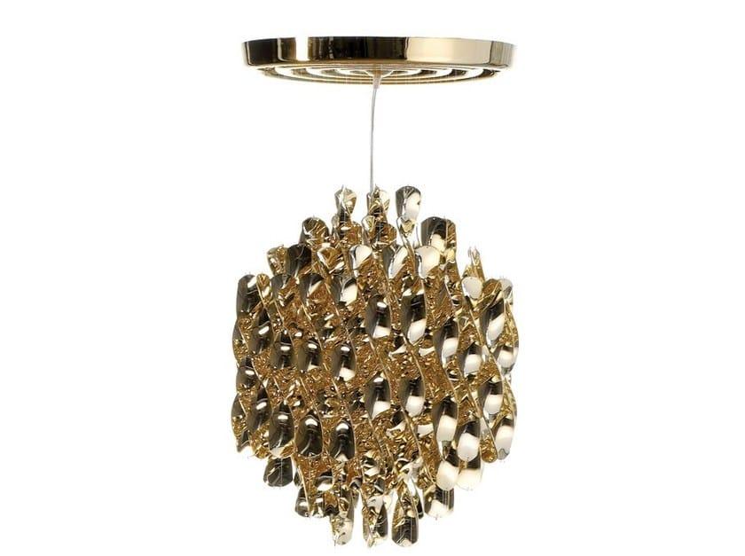 Metal pendant lamp SPIRAL SP1 - Verpan