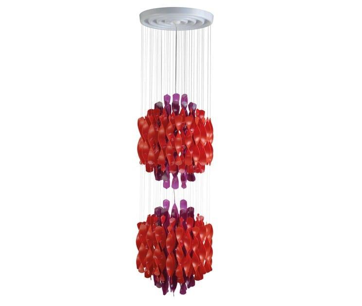 Metal pendant lamp SPIRAL SP2 - Verpan