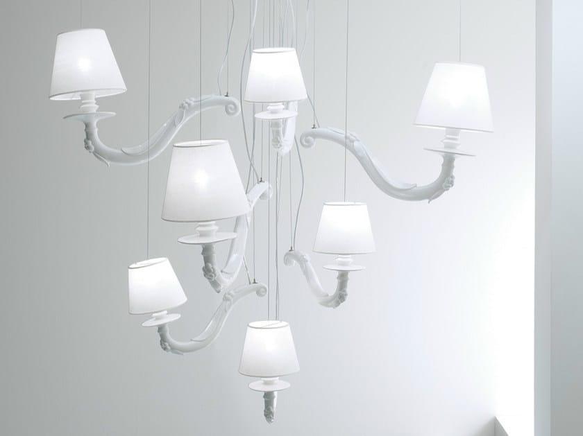 Ceramic chandelier DÉJÀ-VU | Chandelier - Karman