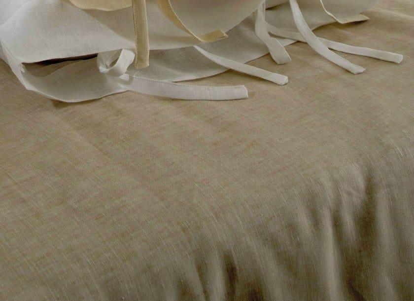 Solid-color linen duvet cover GARZA   Duvet cover by Cantori