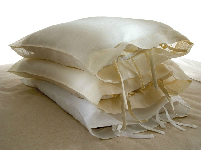 Linen pillow case GARZA | Pillow case - Cantori