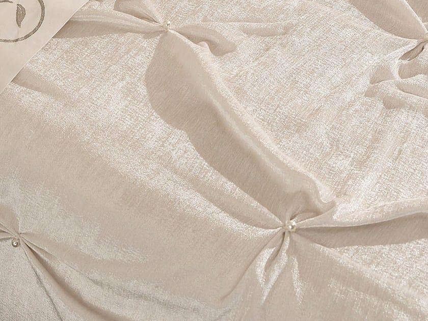 Solid-color velvet bedspread PLISSÉ - Cantori