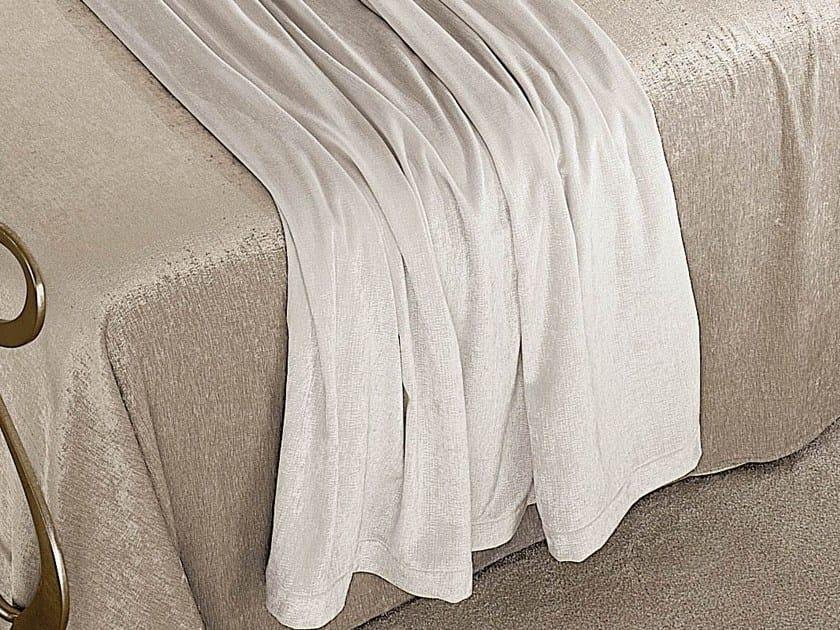 Solid-color velvet blanket TEATRO - Cantori