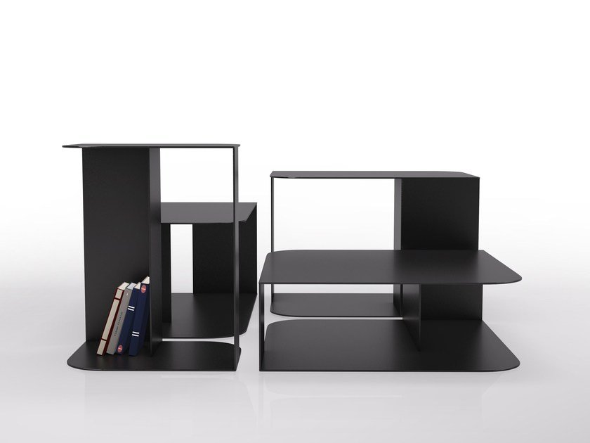 Sectional steel bookcase 2 PIEDS - VIDAME CREATION