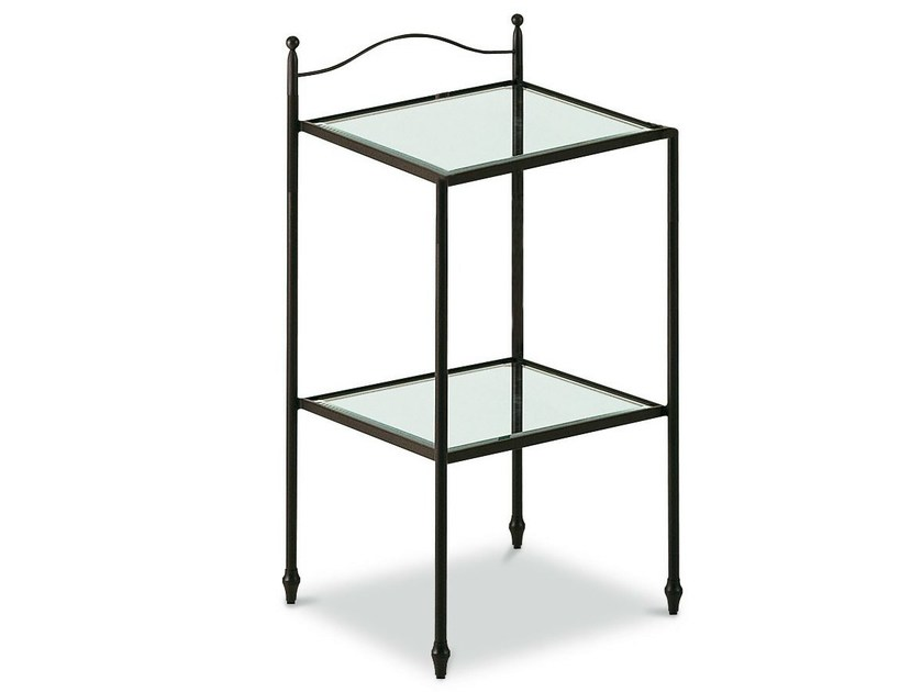 Iron bedside table ALADINO | Bedside table - Cantori
