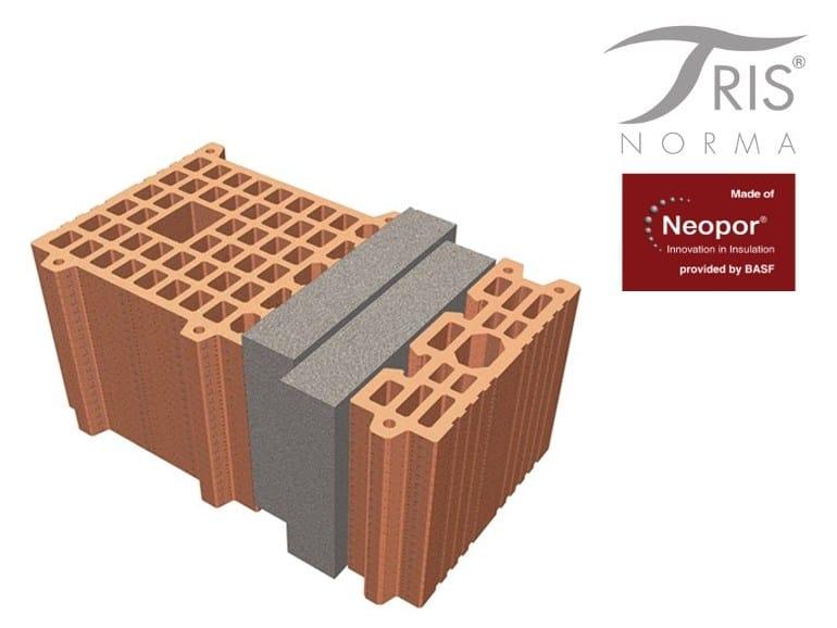 Thermal insulating clay block NormaTRIS® TAMPONAMENTO - FORNACI DI MASSERANO®