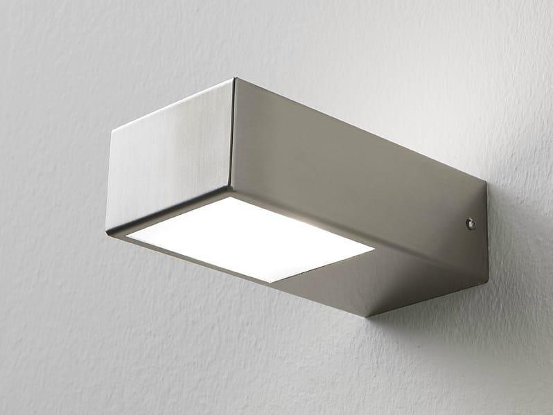 Wall lamp Brushed steel wall lamp - Rexa Design