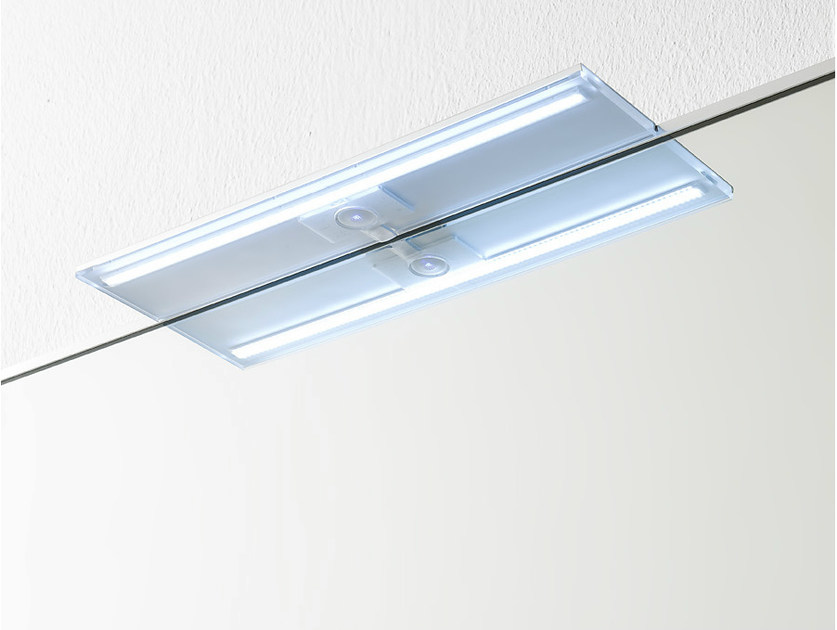 LED wall lamp Plexiglass bathroom wall lamp by Rexa Design