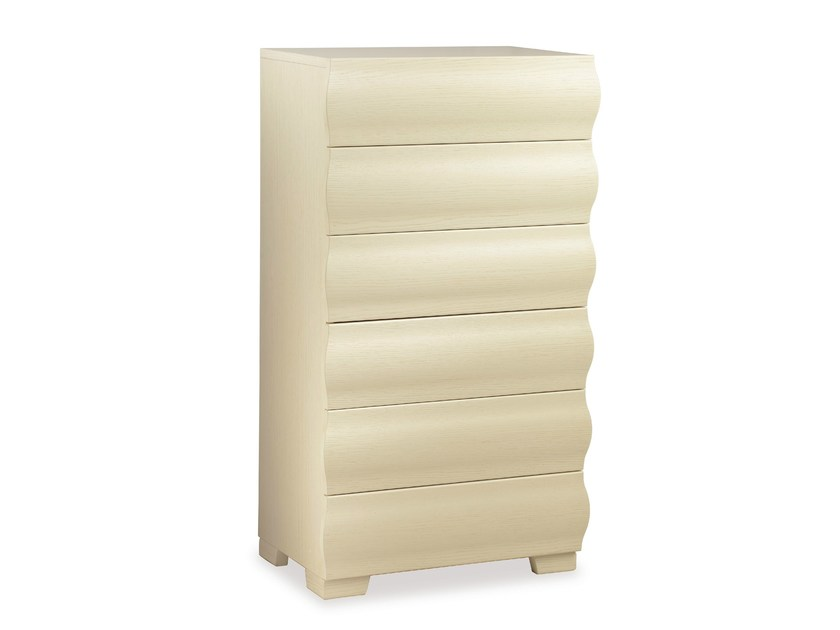 Wooden chest of drawers HELIOS | Chest of drawers - Cantori