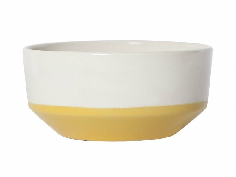 Ceramic serving bowl COLOUR BOTTOM | Serving bowl - NORR11