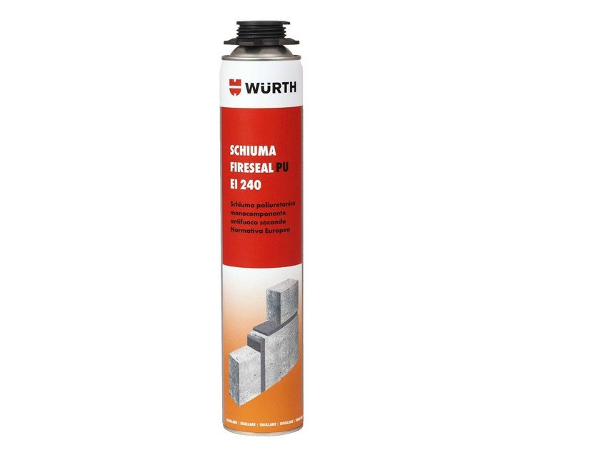 System to protect against fire penetration PU EI 240 - Würth