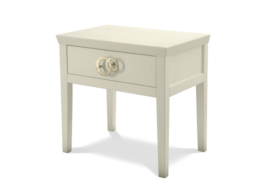Bedside table with drawers NUVOLA | Bedside table - Cantori