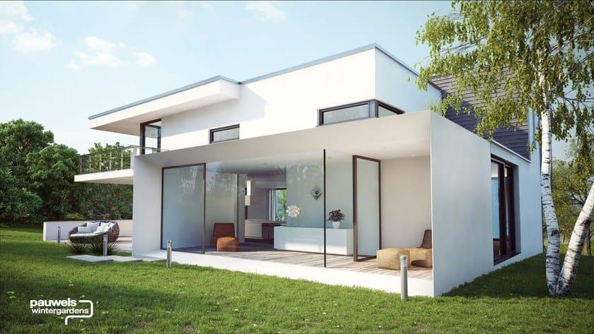 giardino d 39 inverno in alluminio pauwels veranda 39 s atelier italia. Black Bedroom Furniture Sets. Home Design Ideas