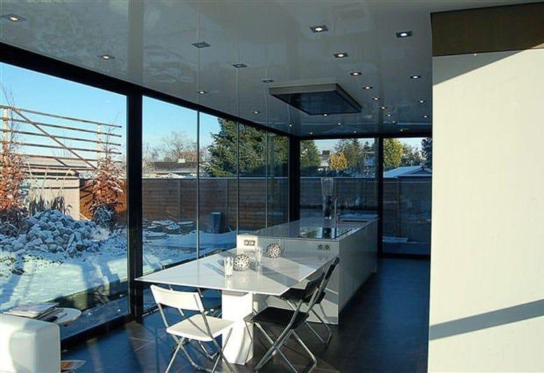 Giardino d 39 inverno in alluminio pauwels veranda 39 s - Veranda giardino d inverno ...