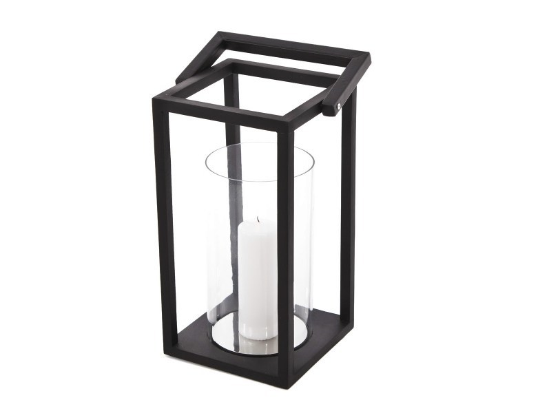 Wood and glass lantern EMPIRE - NORR11