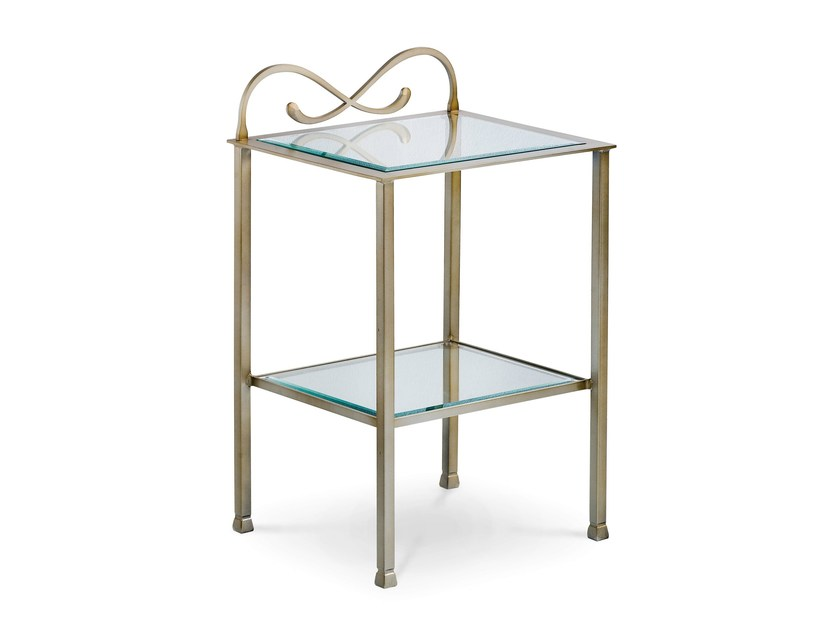 Iron bedside table ZEFIRO | Bedside table - Cantori