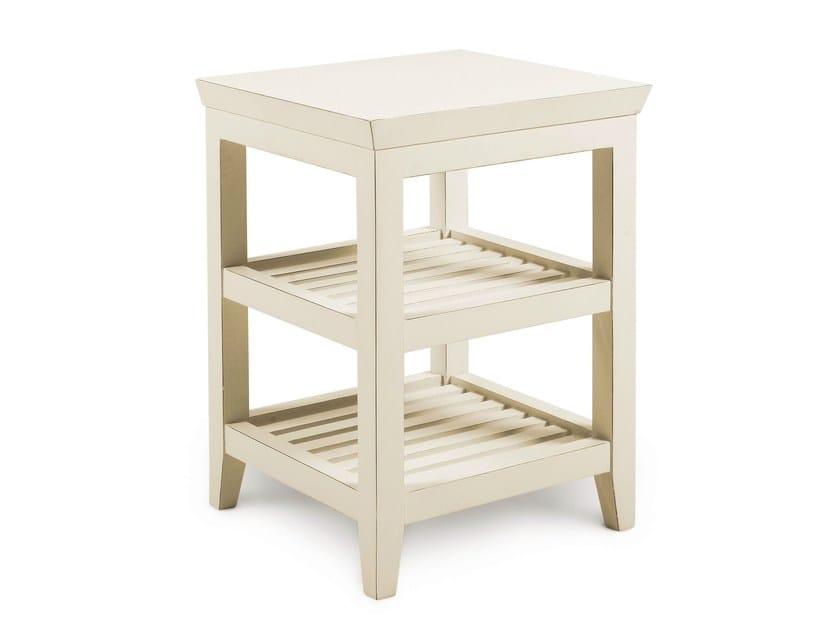 Low floorstanding wooden bathroom cabinet CIRO | Low bathroom cabinet - Cantori