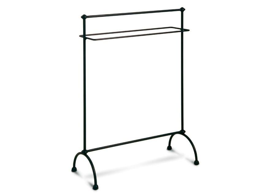 Standing iron towel rack COLONNA - Cantori