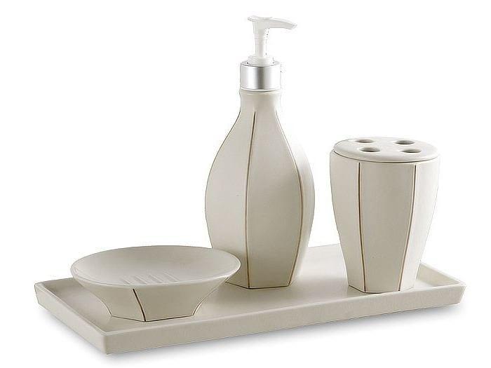 Ceramic Bathroom Accessory Set OTRANTO - Cantori