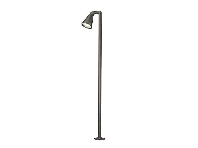 Adjustable aluminium Floor lamp BELVEDERE LARGE - FLOS