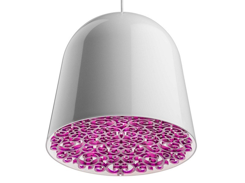Polycarbonate pendant lamp CAN CAN - FLOS