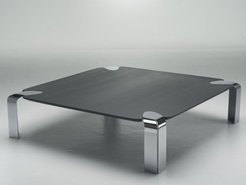 Flow table basse carr e by orsenigo design florian for Table 90x90 design