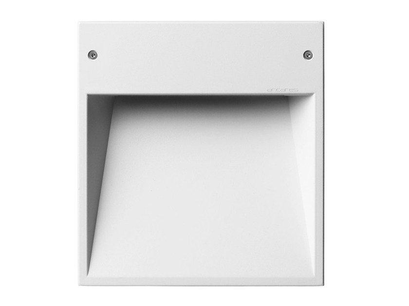 Wall-mounted die cast aluminium foot- and walkover light BOX - FLOS