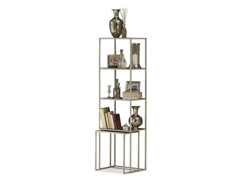 Iron bookcase NARCISO   Bookcase - Cantori