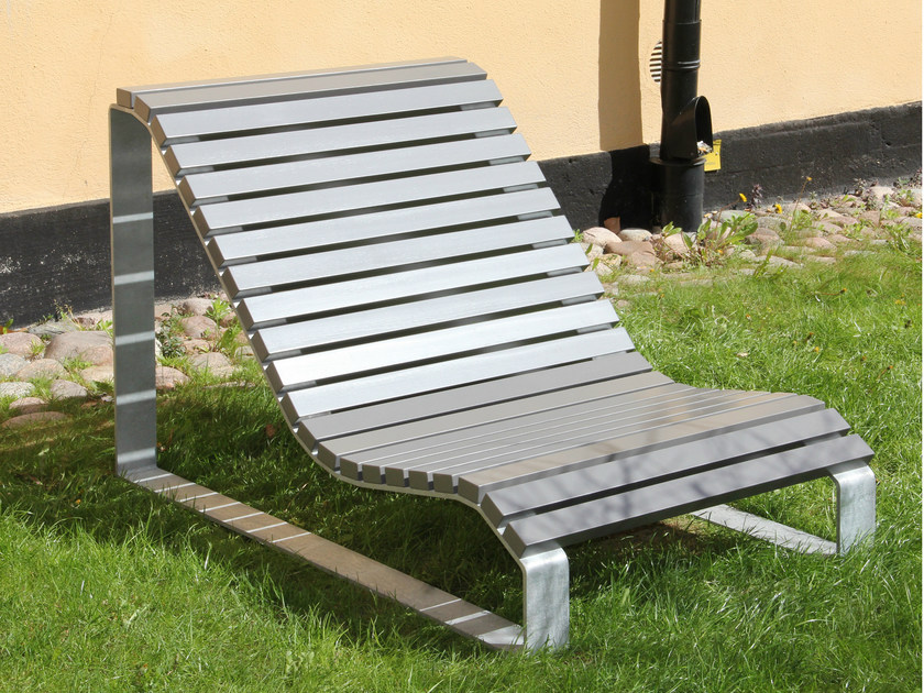 Steel outdoor chair SOLSÄNG - Nola Industrier