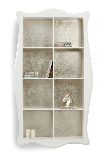 Floating wooden bookcase RAFFAELLO | Bookcase - Cantori
