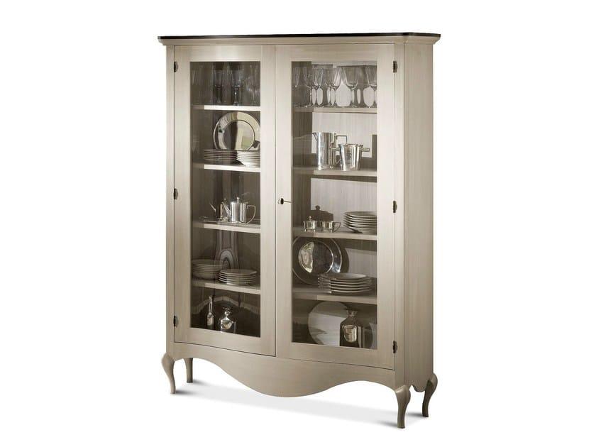 Wooden display cabinet RAFFAELLO | Display cabinet - Cantori
