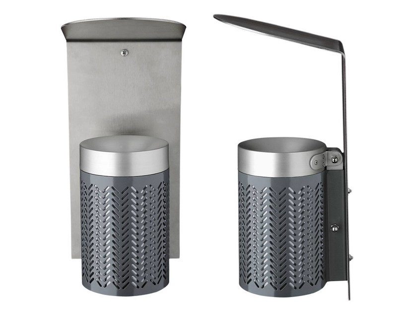 Steel ashtray ZIGZAG | Ashtray - Nola Industrier