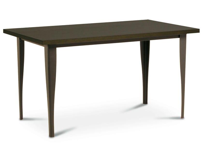 Rectangular iron table ALICANTE | Table - Cantori