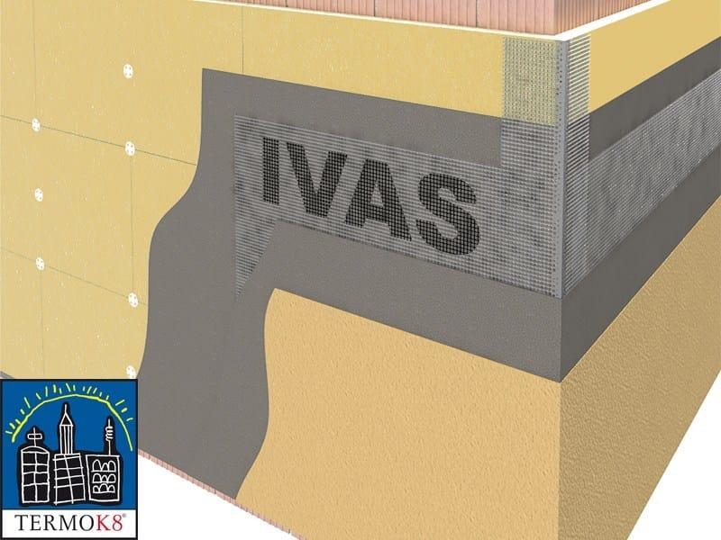Exterior insulation system TermoK8® WOOD - Ivas Industria Vernici - GRUPPO IVAS