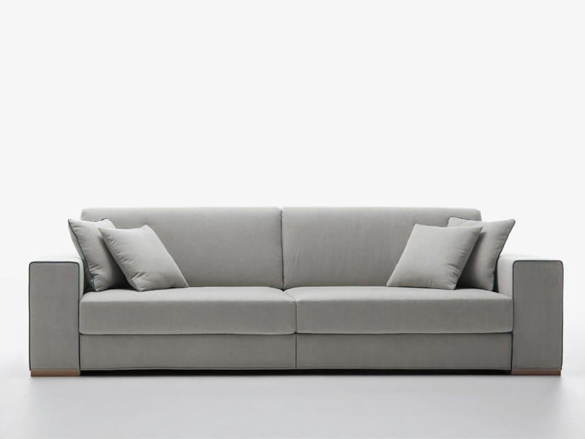 Sectional fabric sofa DÉJÀ VU - Passoni Nature
