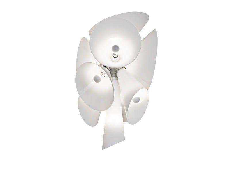 Die cast aluminium pendant lamp NEBULA - FLOS