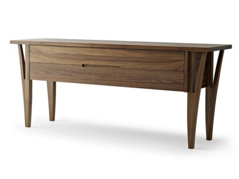 Contemporary style wooden sideboard with drawers MORAAR | Sideboard - Passoni Nature