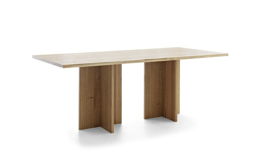 Rectangular wooden table BARON - Passoni Nature