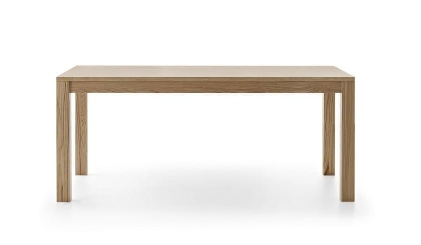 Extending rectangular wooden table DUKE - Passoni Nature