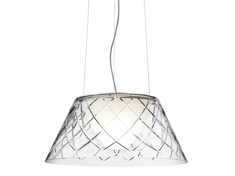 Crystal pendant lamp ROMEO LOUIS II by FLOS