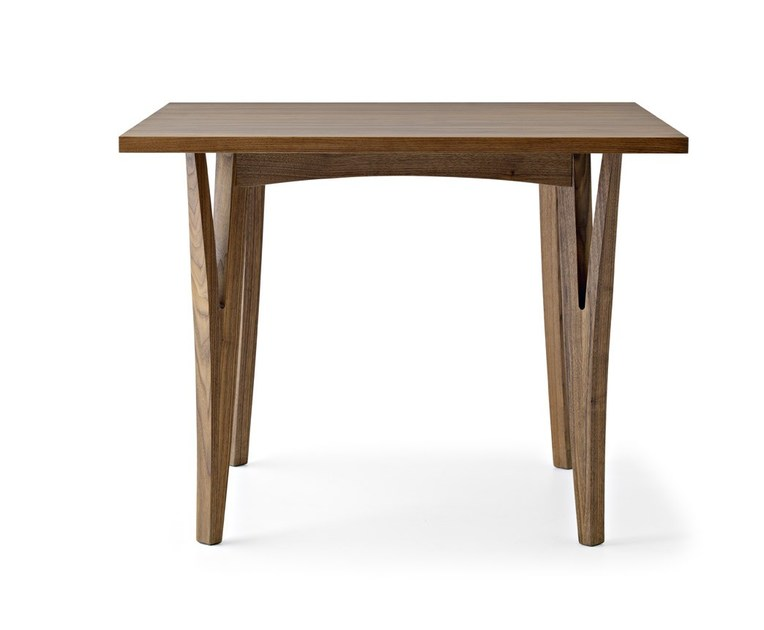 Square solid wood table MORAAR | Square table - Passoni Nature