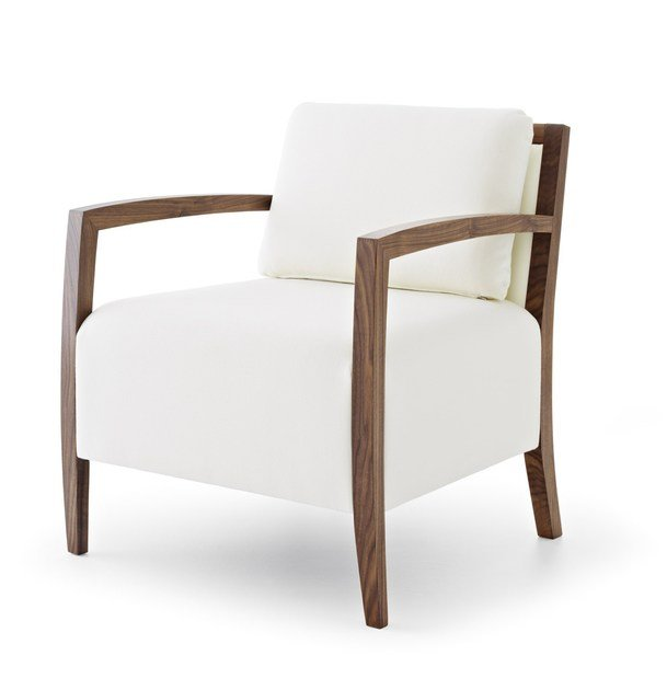 Upholstered armchair with armrests SAFFO LAZY LIGHT - Passoni Nature