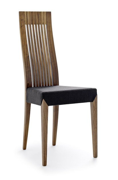 High-back wooden chair HELIOS | Chair by Passoni Nature