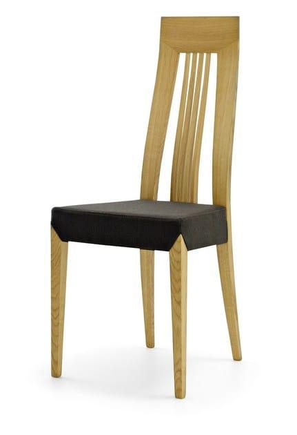 chaise en bois avec dossier haut artemis by passoni nature design ap studio. Black Bedroom Furniture Sets. Home Design Ideas