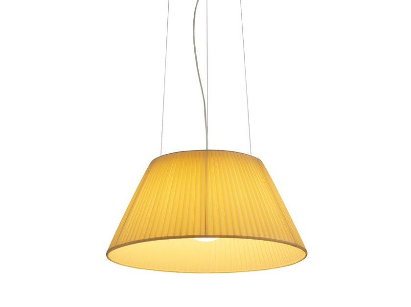 Fabric pendant lamp ROMEO SOFT S - FLOS