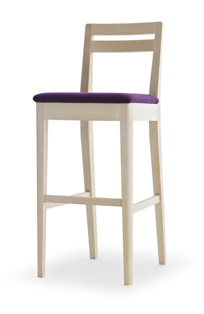 Counter stool with footrest IBERIA | Counter stool - Passoni Nature