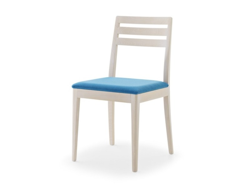 Upholstered chair with removable cover IBERIA | Upholstered chair - Passoni Nature