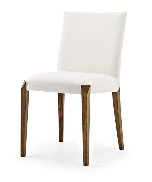 Upholstered wooden chair DAFNE | Chair - Passoni Nature