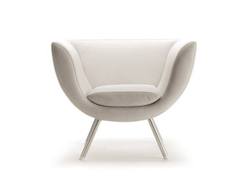 Armchair with fire retardant padding SPLINE | Armchair by ESTEL GROUP