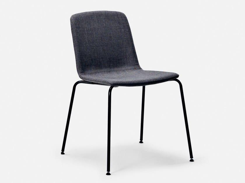 Fabric chair with fire retardant padding SHE'S - La Cividina